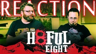 The Hateful Eight Trailer REACTION!!