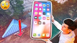WORLDS BIGGEST IPHONE X MOD! *INSANE* | David Vlas