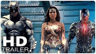 JUSTICE LEAGUE Extended Trailer (2017)