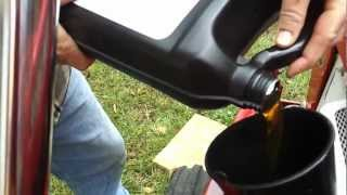 Yanmar tractor oil change part 2