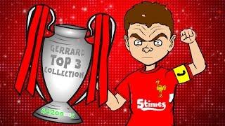 ⭐️STEVEN GERRARD TOP 3 COLLECTION⭐️ (PARODY highlights best goals kits retires)