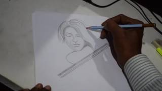 How To Draw Nice Girl For Vaolin