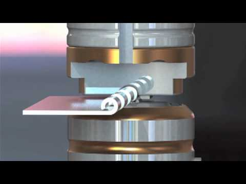 Forming Hinges in the Punch Press Saves Time Increases Accuracy