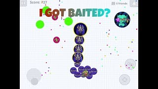 MY CLAN ABANDONED ME IN MID-GAME?😭 BAIT GODS DESTROYING ARABIC DOMINATION IN AGARIO MOBILE