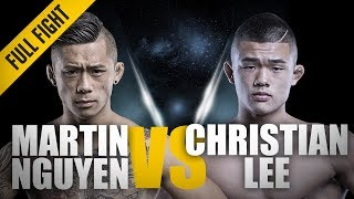 ONE: Full Fight | Martin Nguyen vs. Christian Lee | A Glimpse Of Greatness | August 2016