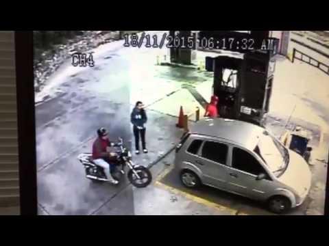 Asi actua el hampa en Caracas