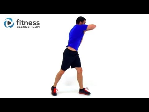 Cardio Kickboxing Workout with Ab Exercises 37 Minute Fat Melting Routine with Fitness Blender