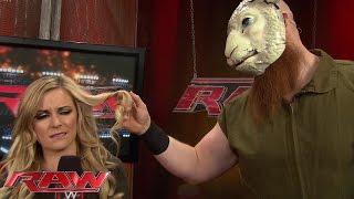Erick Rowan has his eye on Renee Young: Raw, Nov. 3, 2014