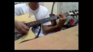 bhalobasi tai bhalobese jai-guitar tutorial by MH Zunaeid
