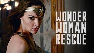JUSTICE LEAGUE - Wonder Woman Rescue Scene (HD) 2017