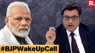 PM Narendra Modi Versus Who Next? #BJPWakeUpCall | The Debate With Arnab Goswami