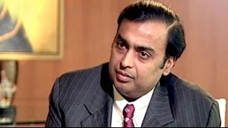 Talking Heads: Reliance Industries chief Mukesh Ambani (Aired: April 2003)