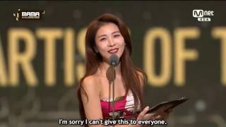 하지원 Ha Ji Won as Presenter in MAMA 2016 Artist of The Year