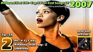 Billboard Hot 100 - Top 3 Year End Songs [ 1958 - 2015  ]