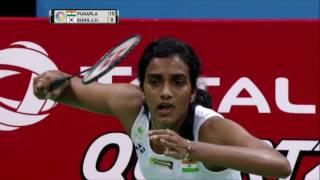Yonex Sunrise India Open 2017 | Badminton SF M5-WS | Pusarla V. Sindhu vs Sung Ji Hyun