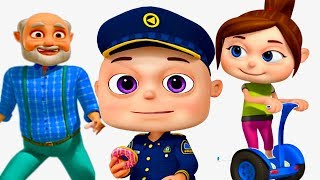 Zool Babies Police and Thief   Part 4   Cartoon Animation For Children   Videogyan Kids Shows