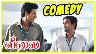 Leelai Tamil Movie | Comedy Scenes | Leelai Movie Comedy | Santhanam,Shiv Pandit, Manasi Parekh,