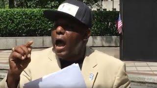 Frank Matthews speaks on Confederate monuments