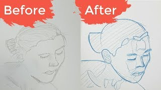 2 Beginners INSTANTLY Improve? How to draw what you see