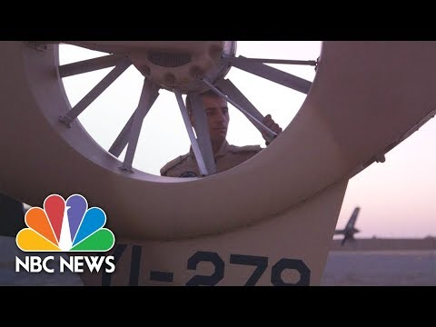 Xxx Mp4 The Hunt For ISIS In The Desert With Iraq S Fighter Pilots NBC News 3gp Sex