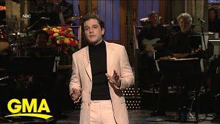 'Game of Thrones' actor Kit Harrington hosts 'SNL' l GMA