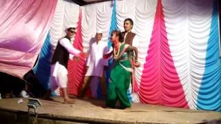 Bai wadyavar ya song Dan's in achanak Ganesh mandal Sawade (Haveli nagar)
