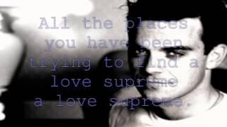 Robbie Williams - Love Supreme Lyrics HD