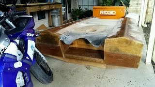 Homemade Fiberglass Jet Boat (Update)