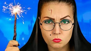 Harry Potter – Hogwarts School / School Pranks And Life Hacks