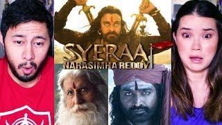 SYE RAA NARASIMHA REDDY   Chiranjeevi   Amitabh Bachchan   Vijay Sethupathi   Teaser Reaction!