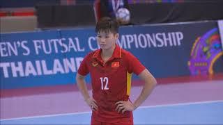 Highlight: Việt Nam 0-0 ThaiLan ( Pen 2-3) ACFWFutsal2018