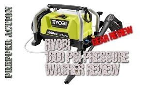 RYOBI Electric 1600 PSI pressure washer review