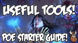 Path of Exile - Beginners Guide to Useful Tools!