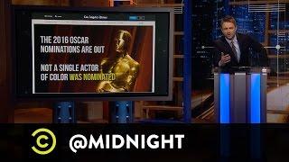 Adam Savage, Rich Eisen, Ron Funches - #OscarsSoWhite - @midnight with Chris Hardwick