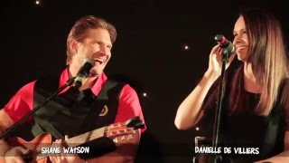 Watto and Danielle de Villiers on song!