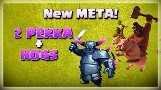 New META! 2 Pekka + Hogs= Smashing TH11 | TH11 War Strategy #259 | COC 2018 |