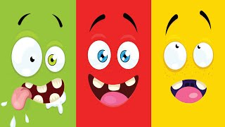 Färgsången och andra barnsånger 50 minuter | Busigt Lärande