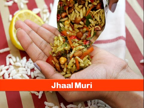Jhaal muri recipe|Spicy puffed rice|Bengali jhal muri evening snacks indian recipes-let's be foodie