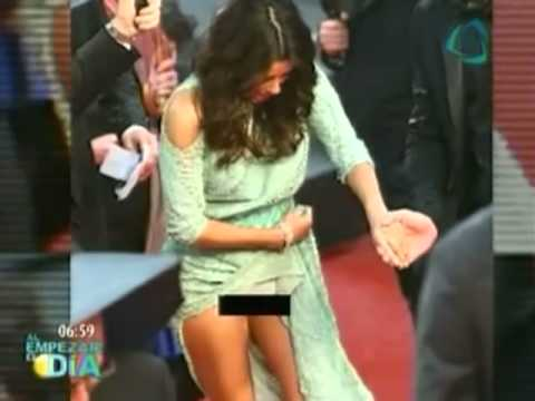 Eva Longoria muestra parte íntima en Festival de Cannes Eva Longoria shows intimate part