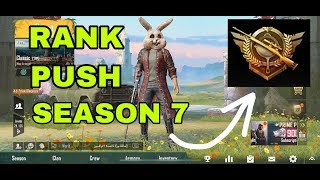 PUSH RANK LIKE A BOSS WITH THESE TRICKS | PUBG MOBILE