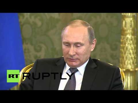 Russia: Putin discusses bilateral trade with King of Morocco