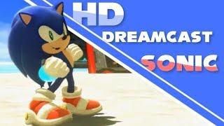 HD Dreamcast Sonic : Chemical Plant & Emerald Coast w/ Su Reshade