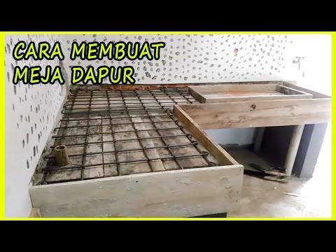 Cara Mudah Membuat Sendiri Meja Dapur (Step by step Bag-1) Rinc Biaya di Deskripsi