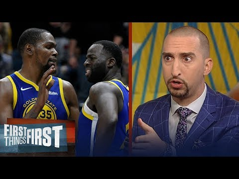 Xxx Mp4 Nick Wright Is Shocked The Warriors Suspended Draymond After Rift With KD NBA FIRST THINGS FIRST 3gp Sex