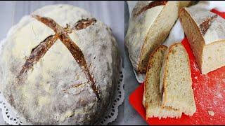 طرز تهیه نان خمیر ترش | عالی برای صبحانه و یا عصرانه وقتی تستش میکنید