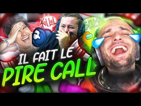 IL FAIT LE PIRE CALL 🤯 Among Us