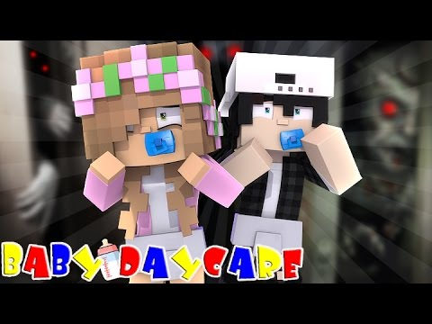 MONSTERS IN THE CLOSET Minecraft Baby Daycare w LittleKellyandCarly Raven and Leo Roleplay
