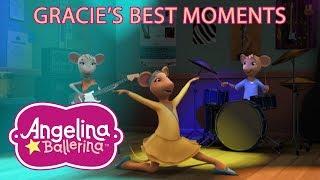Angelina Ballerina 🎵 Gracie's Best Moments 💃