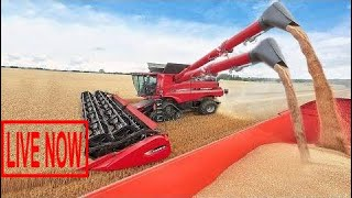 World Amazing Modern Agriculture Equipment and Mega Machines Tractor, Harvester, Loader, Silo  #ARJ