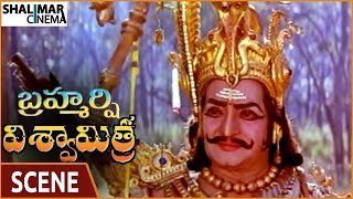 Brahmarshi Viswamitra Movie || NTR Best Introduction Scene || NTR, Balakrishna || Shalimarcinema